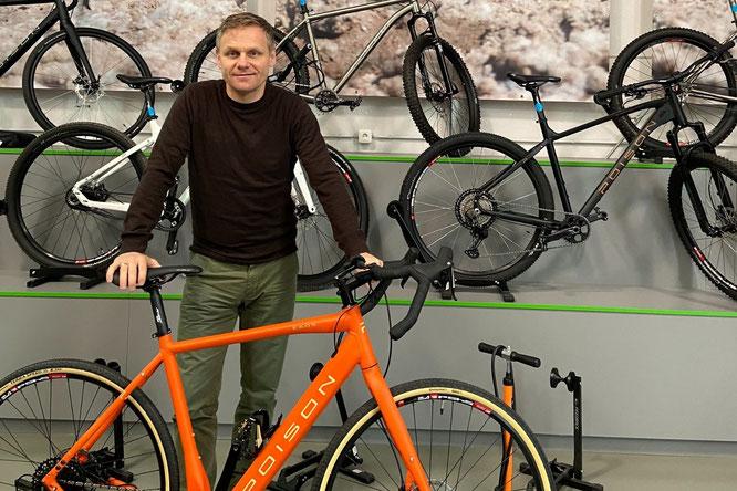 Der bisherige Inhaber und alleinige Geschäftsführer Hans Werner Theisen hat die POISON BIKES GmbH an den Wiesbadener Unternehmer Thomas Wiesel verkauft.