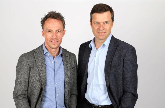 Die Gründer und Geschäftsführer von rebike1, Thomas Bernik und Sven Erger