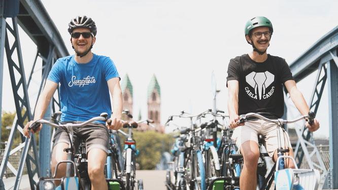 CARLA ist die effiziente Lösung der letzten Meile für Bikesharing, Fahrradverleiher, Fahrradvermieter und Fahrrad-Abo-Anbieter.