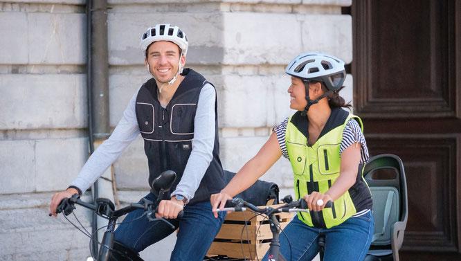 B´Safe - Smart Airbag für Radfahrer