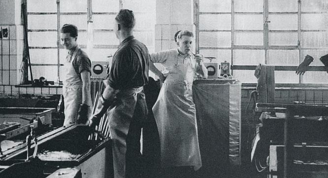 Pumpenfertigung in den 50er Jahren