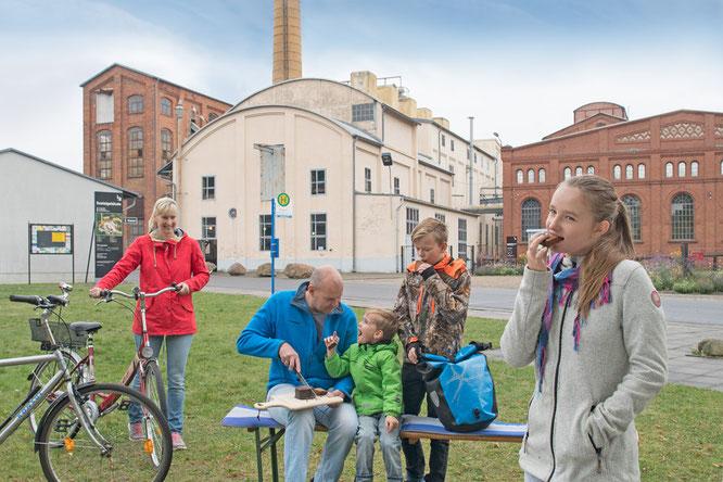 Brikettfabrik Louise   Copyright: Tourismusverband Lausitzer Seenland, Nada Quenzel