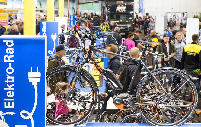 Fahrrad Essen - Messe für Fahrräder, Zubehör und Radtouristik