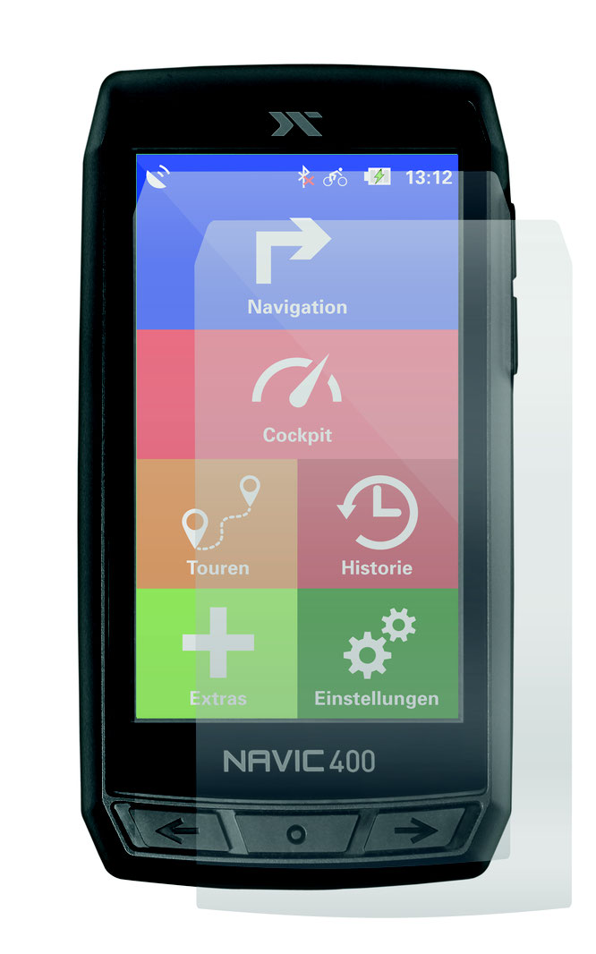 CICLO Navic 400 - Zwei ergänzende Schutzfolien
