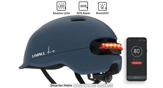 Livall präsentiert Smart-Helm C20 mit intelligenten Sicherheitsfunktionen