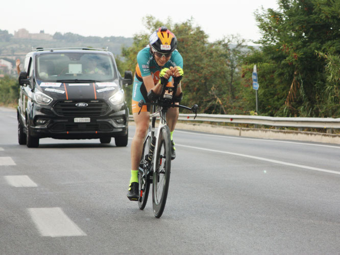 Nicole Reist - Ultracycling Adriatic Cycling Marathon 2021 ©Foto Crew
