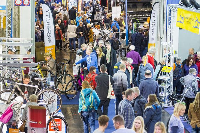 Fahrrad Essen – die größte Fahrradmesse in NRW – öffnet ihre Tore und überzeugt mit einem gewohnt breiten Angebot