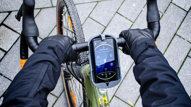 Sminno Smartphone-Halterung für Ihr Fahrrad mit innovativer Soundverstärkung
