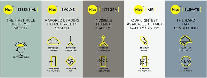 Mips-Technologie durch optimiertes Klassifizierungssystem