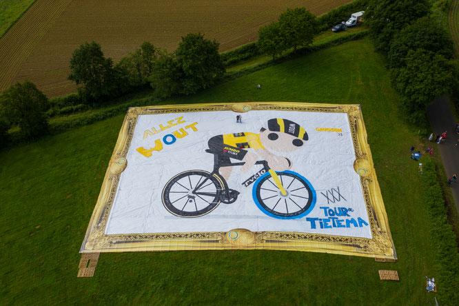 Swapfiets und Tour de Tietema kooperieren für Van Aert zur Tour de France 2021 / Foto: Tour de Tietema