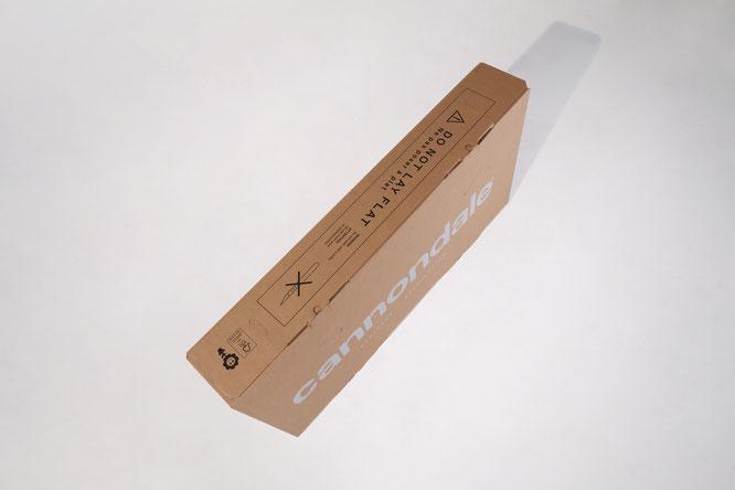 Cannondale Verpackungen ab sofort 100 % recycelbar und stabiler bei gleichzeitig kürzeren Montagezeiten