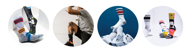 Lebenslange Garantie auf Stance Socken mit Infiknit Technologie