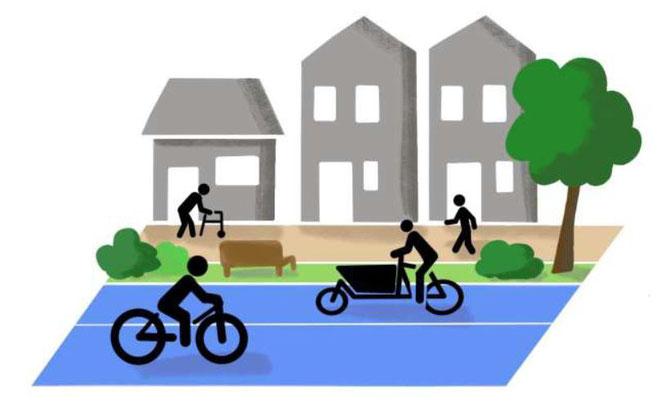 """Fachpapier """"Urbane Mobilitätswende bis 2030"""" - © BUND"""