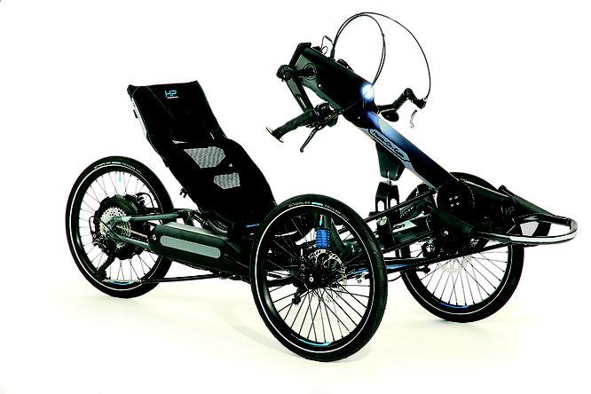 So elegant kann Inklusion aussehen: Hands-On-Cycle von HP VELOTECHNIK. Bilder ©HP VELOTECHNIK