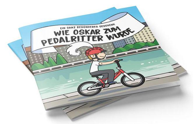 woom präsentiert Kinderbuch über den magischen Moment des ersten Radfahrens