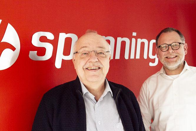 Paul de Haan und Feike Spanninga ©Spanninga