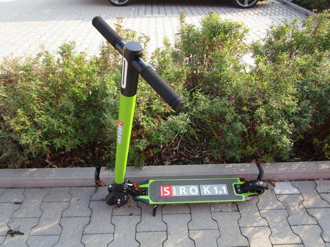 Kick-Scooter SIRO K 1.1 (Art.-Nr. 21110) grün