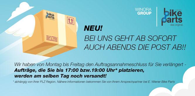 Quelle: E. Wiener Bike Parts GmbH