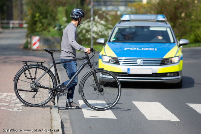 Fahrräder im Straßenverkehr – populäre Rechtsirrtümer