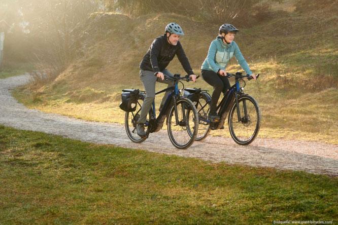 Herbst - Zwei Radler im Wald (c) Giant Bikes