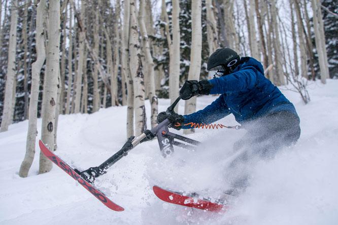 Ski Bike SNO-GO startet in der Skisaison 2019/2020 durch