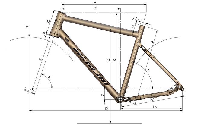 Argon GX - Geometrie