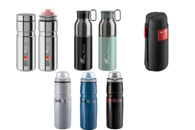 Neue ELITE Thermo-Fahrradflaschen für alle Jahreszeiten