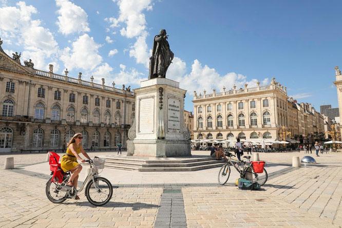 La Voie Bleue, Place Stanislas, Nancy. Copyright: Guillaume Robert Famy