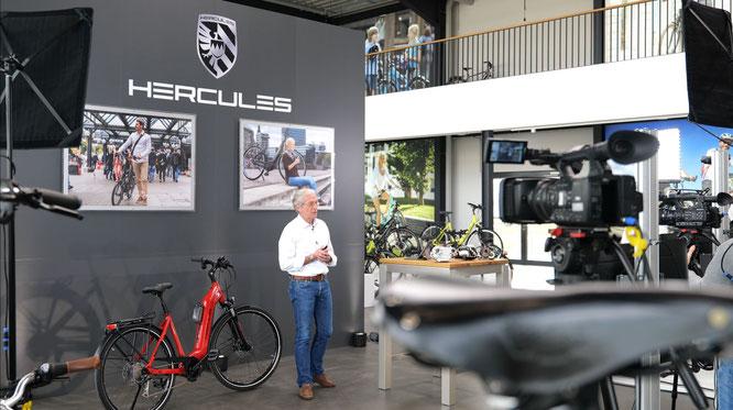Hercules GmbH präsentiert die neuen E-Bikes