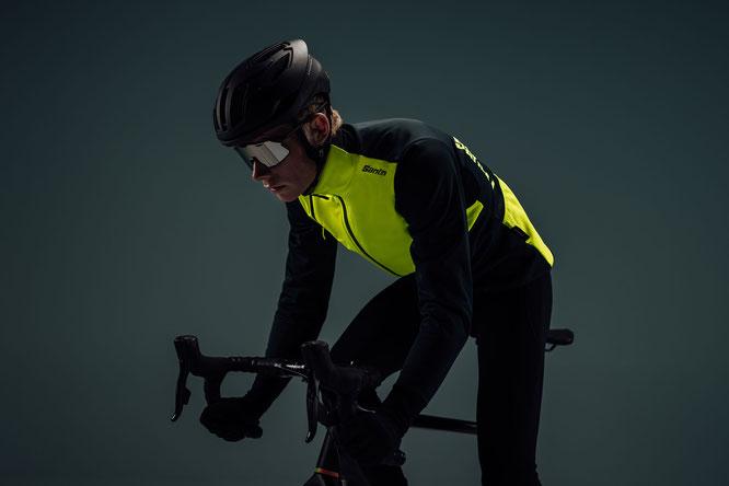 Jacke Santini Vega Absolute mit Polartec Power Shield Pro, einem wasserdichten Drei-Schichten-Gewebe