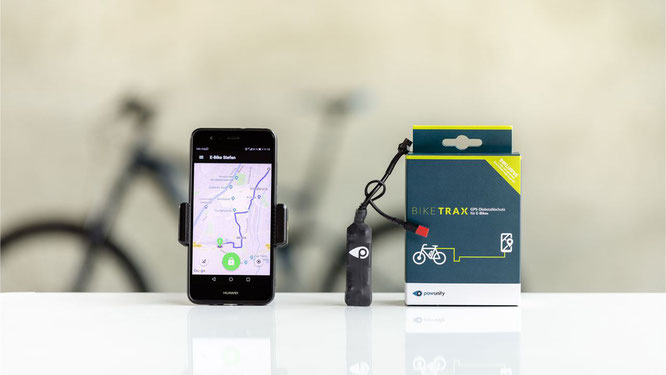 PowUnity // BikeTrax GPS Tracker für E-Bikes & Co