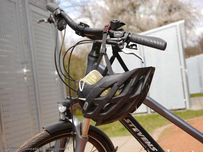 Berliner Fahrrad-Accessoires-Anbieter Fahrer Berlin stellt ab sofort Behelfsmundschutz her