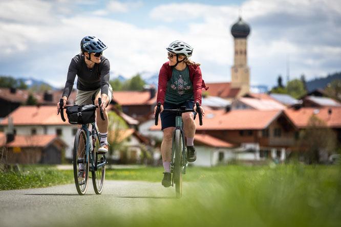 Auf den Wasser-Radlwegen Oberbayern bequem von zu Hause aus ins Radabenteuer starten  © oberbayern.de