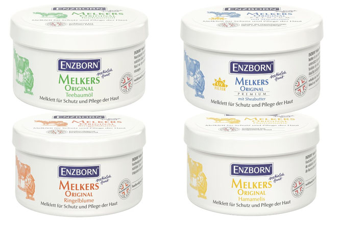 ENZBORN Melkfette schützen im Winter, bei Wind und rauer Witterung – Schutz wie eine zweite Haut