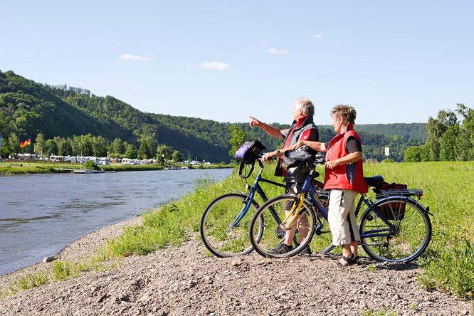 Radweg an der Weser ©Rückenwind
