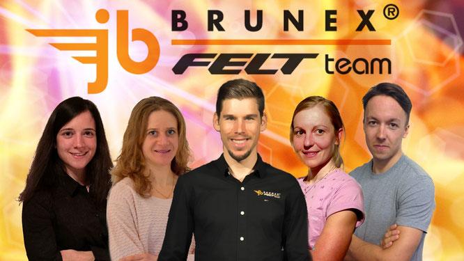 Elite jb BRUNEX Felt Factory Team