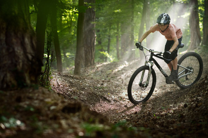 Neues woom OFF AIR Mountainbike  - mit Federgabel