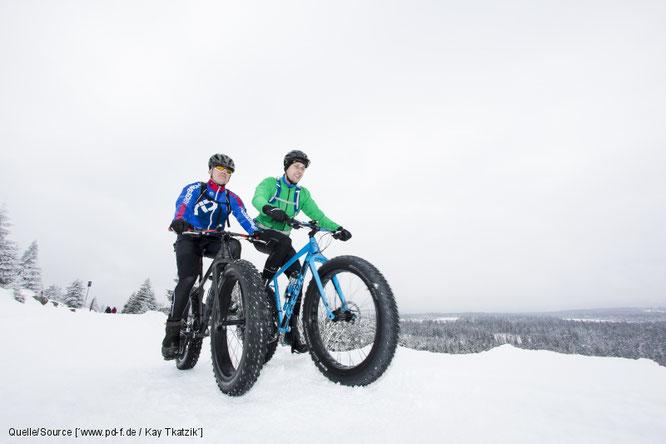 Eine Harztour im Winter - mit dem Fahrrad