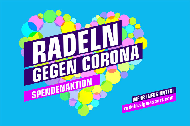 """SIGMA SPORT startet große Mitmach-Charity-Aktion """"Radeln gegen Corona"""""""