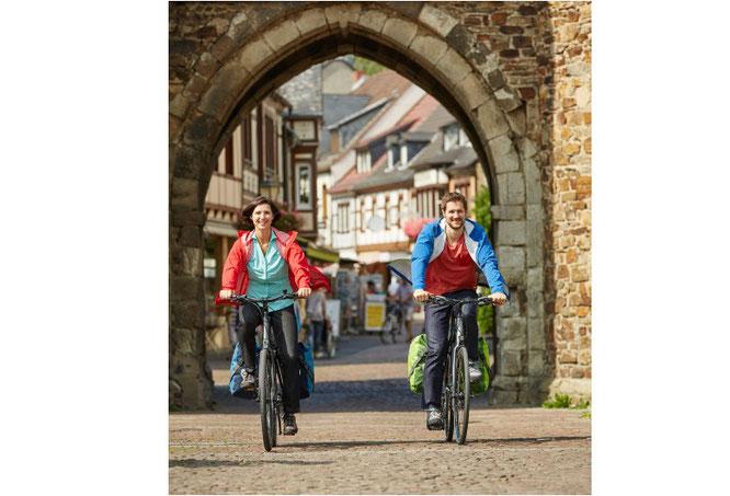 Aktiv, abwechslungsreich und nachhaltig: Der ADFC Rheinland-Pfalz empfiehlt Kurzurlaub mit Fahrrad und Bahn.   Foto: ADFC/Markus Gloger