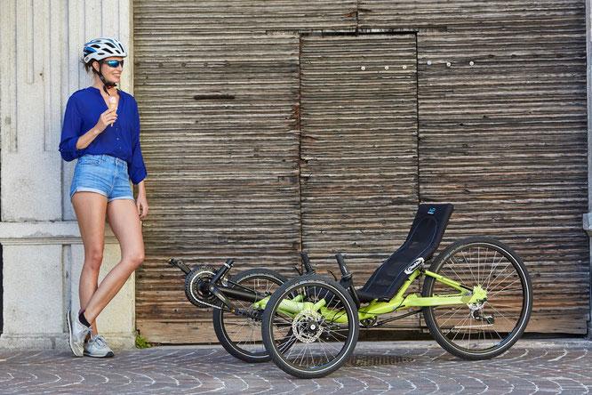 Gekko 26, das Volks-Trike -  Günstiger Einstieg in die Welt der Liegedreiräder: voller Fahrspaß unter 2000 Euro