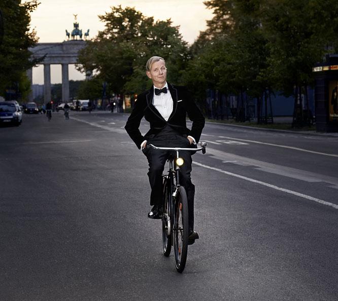 """Max Raabe ist """"Fahrradfreundlichste Persönlichkeit 2019"""" / Bild: Marcus Höhn"""
