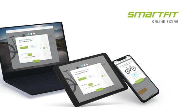 Smartfit Online Sizing schließt Lücke in der Rahmengrößenberatung bei Hersteller-Websites und Online-Shops