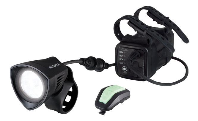 Sigma Buster 2000 HL mit kraftvollen 2000 Lumen, Helmleuchte aus dem Hause SIGMA SPORT