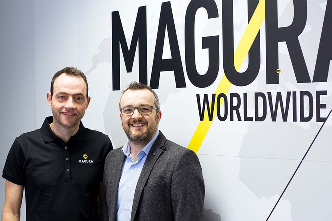 Roland Danner & Timo Kieninger / Foto: Magura