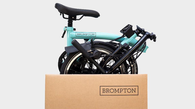 Serviceplus bei Brompton durch Click & Collect und Direct To Home