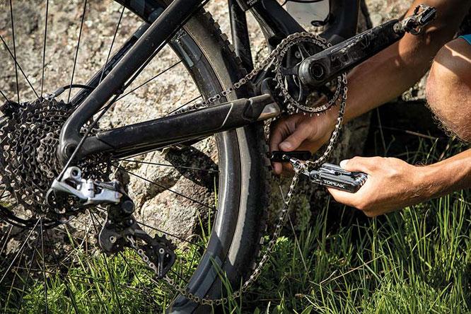 Minitool Reparatur Topeak ©RTI Sports