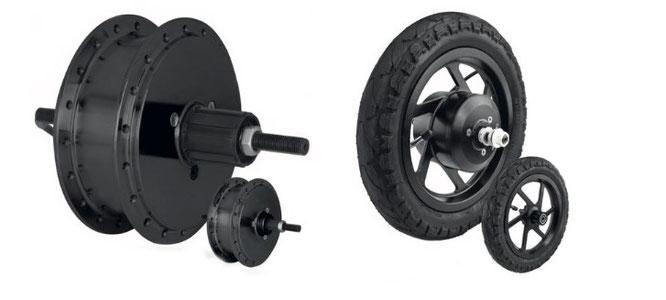 RM9.0 & 9.2 Heckmotor und Antrieb SCM1.1 Scooter