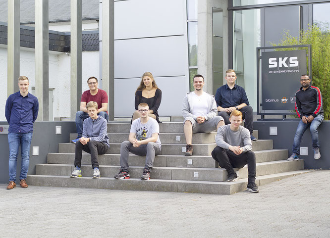 SKS startet mit neun Azubis ins neue Ausbildungsjahr