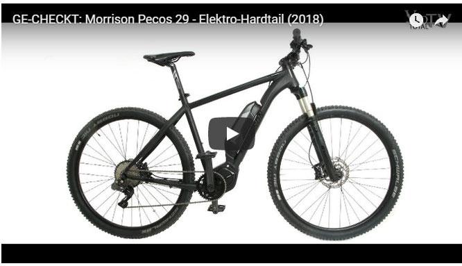 GE-CHECKT: Morrison Pecos 29 - Elektro-Hardtail (2018)
